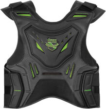 Icon Mens Green/Black Field Armor Stryker Motorcycle Armored Vest