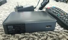 WD TV Live Streaming Media Player C3H WDBHG70000NBK-01 FULLY WORKING