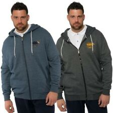 Santa Monica Polo Club Mens Big Plus Size Sweat Lounge Wear Hoodie Zip Hoody Top