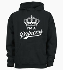 I'm A Princess Funny Cute Hipster Tumblr Queen Unisex Hoodie Hoody