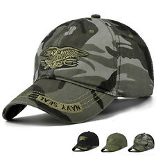 Mens Sun Hat Outdoors Caps Baseball Cap Navy Seal Adjustable Camouflage