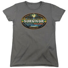 Survivor TV Show HEROES vs. VILLAINS Logo Licensed Women's T-Shirt All Sizes
