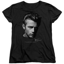 James Dean PORTRAIT Licensed Women's T-Shirt All Sizes