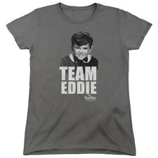 The Munsters TV Show Eddie Munster TEAM EDWARD Women's T-Shirt All Sizes