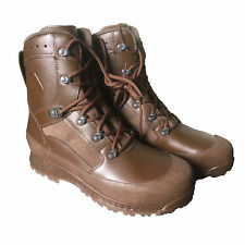 Haix MTP Combat Boots British Army Surplus Brown Military Work Boots S/G