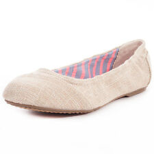 Toms Burlap Kids Ballerinas Natural New Shoes