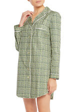 NEW Tory Burch Mireille Printed Stretch-cotton Pajama Shirt - MSRP $195.00!