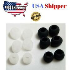 Replacement Ear bud tips sleeves Samsung Headphones Earphones gels ALL SIZES