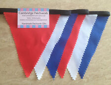 "Celebration ""Red, White & Blue"" Bunting - Queens Birthday,Jubilee Street Parties"