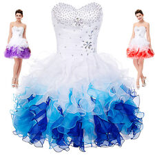 Girl Short/Mini Cocktail Party Homecoming DRESSES Formal Bridesmaid Prom Dress