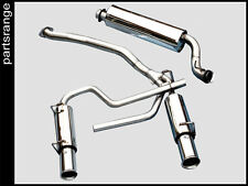 Range Rover P38 Stainless Steel Exhaust Cat Back Rear V8 System bespoke sports