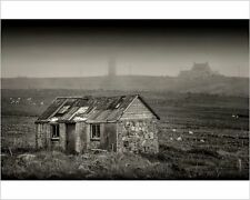 25x20cm Photo-Abandoned Crofter's cottage in the countryside -12478061-8105