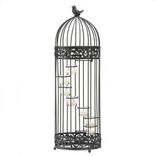Birdcage Staircase Theme Candleholder Stand Centerpiece Accent New