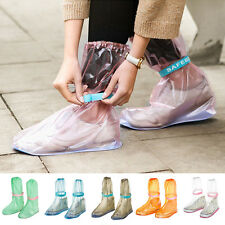 Reusable Rain Snow Shoe Covers Waterproof Shoes Overshoes Boot Gear Hot 1 Pairs