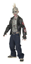 Zombie Punk Rocker Child Halloween Costume