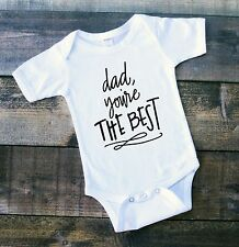 Fathers Day Outfit 1st Fathers Day Happy Fathers Day Gift Baby Clothes