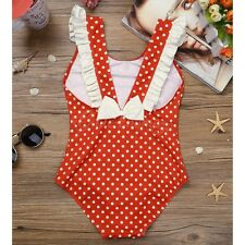 Toddler Kids Baby Girls One-piece Swimsuit Swimwear Beachwear Bathing Suit Bikin