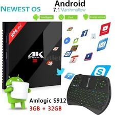 H96pro+ 4K S912 Octa core Android 7.1 3G+16G Wifi Smart Media Player TV Box A7D5