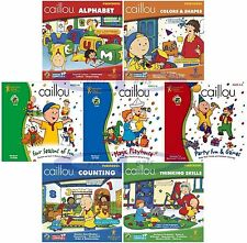 Caillou Preschool Kindergarten Learning Games Assortment Windows XP Vista 7 8 10
