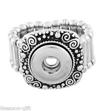 Wholesale Lots  Adjustable Ring Fit Mini Snap Buttons size 7.5 Spiral 17.7mm