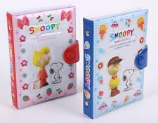 KOREAN SNOOPY & FRIENDS PVC COVER DIARY SCHEDULE BOOK 31975