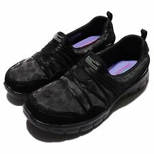 Skechers Synergy-Cocktail Hour Black Womens Running Shoes Sneakers 11962-BBK