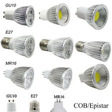 9W 12W 15W GU10 MR16 E27 LED Spot Light Bulb Epistar/COB Dimmable Spotlight Lamp