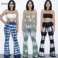 Printed Rompers Womens Two Piece Bodycon Jumpsuits 2016 Summer Long Pants Wide