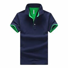 2016 New Brands Mens Printed POLO Shirts Brands 95% Cotton Short Sleeve Camisas