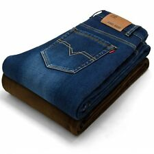 Hot sale 2016 Fashion Mens Jeans Brand Winter Jeans Plus Size Pants Denim Casual