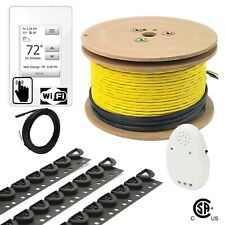 120V UWG4 Electrical Radiant Warming Floor Heating Cable System Kits