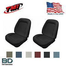 1967-1968 Camaro Front Sport Bucket Seat Upholstery - Any Color - Plus Foam USA