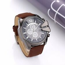 V6 soprt watch men watch army military watches fashin leather mens watches hour
