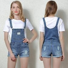 Women Denim Jumpsuits Casual Sexy Rompers Sleeveless Womens Summer Outfits Strap