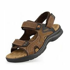 New 2016 mens sandals Genuine leather cowhide sandals outdoor casual men summer