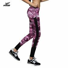 Sexy Women's Leggings Workout Fitness Trousers Star Print Casual Pencil Pants