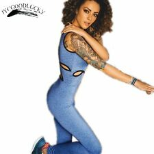 New Arrival Rompers Womens Jumpsuit 2017 Romper Overalls For Women Playsuit Deep