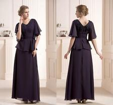 New Elegant Women's Formal Evening Dress Long Party Mother of the bride Dresses