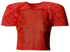 ProMark Football Lacrosse YOUTH Waist Length Poly Mesh Practice Jersey RED S-XL