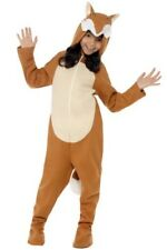 Smiffy's Childs Party Animals Hooded Fox Jumpsuit Book Week Fancy Dress Costume