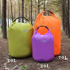 20/40/70L Waterproof Dry Bag Resistant Canoe Floating Boating Camping Kayaking