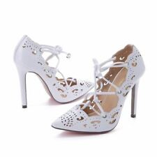 Women Pumps lace up Sexy High Heels Shoes  Stilettos