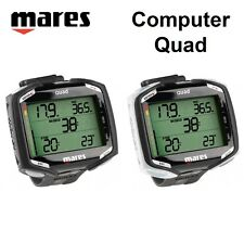Mares Quad Wrist Dive Computer Diving Watch 414134 Air Nitrox - AU