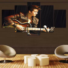 Framed Home Decor Canvas Print Painting Wall Art Elvis Presley Performing Poster