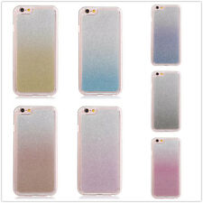 Luxury Bling Glitter Gradient Soft TPU Crystal Bumper Case Cover For Cell Phones