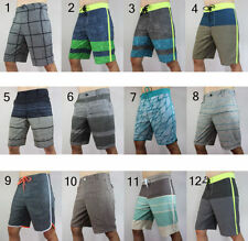 men way STRETCH boardshorts swimwear board shorts surf shorts SZ 30 32 34 36 38