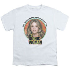 Bionic Woman TV Show Jamie Sommers UNDER MY SKIN Licensed Youth T-Shirt S-XL
