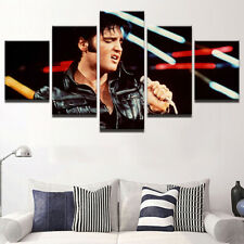 Framed Home Decor Canvas Print Painting Wall Art Elvis Presley Singing Poster