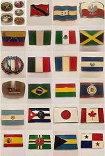 FLAG Belt Buckles - PICK YOURS - Multiple styles and sizes