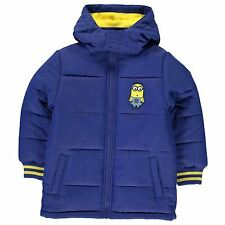 Despicable Me Minions Padded Coat Infant Boys Blue/Yellow Jacket Outerwear